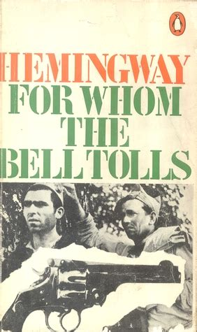 For whom the bell tolls literary analysis